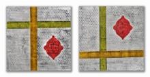 Sumit Mehndiratta | Acrylic Painting title Varnan Vrisht on Canvas | Artist Sumit Mehndiratta Gallery | ArtZolo.com