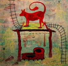 Figurative Acrylic Art Painting title 'Img 20200518 113933' by artist Lakhan Singh Jat