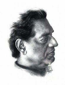 Ray | Drawing by artist Pranab Das | | pencil | Paper