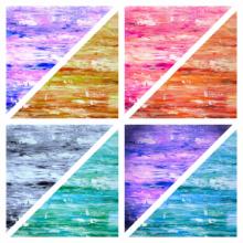 Abstract Acrylic Art Painting title Collage 6 by artist Manju Lamba