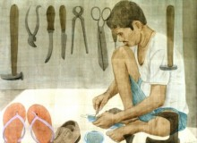 Figurative Watercolor Art Painting title 'Mochi' by artist Gulab Kapadiya