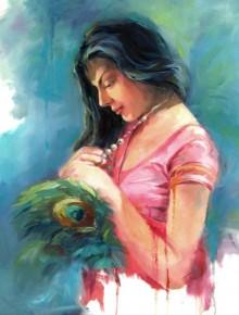 Love 2 | Painting by artist Raviraj | oil | Canvas Board