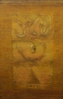 Ramesh Thorat | Oil Painting title Untitled 5 on Canvas