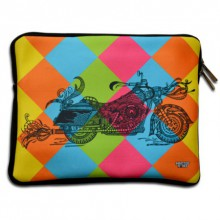 Sejal M | Bike iPad Sleeve Craft Craft by artist Sejal M | Indian Handicraft | ArtZolo.com