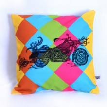 Sejal M | Designer Bike Cushion Craft Craft by artist Sejal M | Indian Handicraft | ArtZolo.com