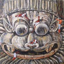 Exploring The Divine Iii | Painting by artist Suruchi Jamkar | acrylic | Canvas