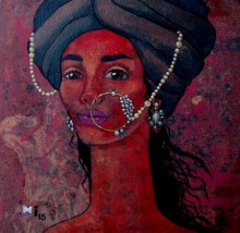 Melancholic | Painting by artist Suruchi Jamkar | acrylic | Canvas