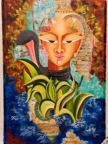 Shivohum 2 | Painting by artist Deepali Mundra | acrylic | Canvas