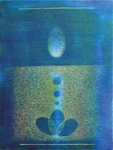Hanumanth Devulapalli Paintings | Abstract Painting - Pipasa3 by artist Hanumanth Devulapalli | ArtZolo.com