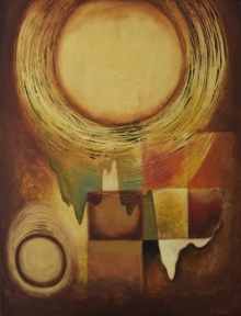 thread,round,circleoflife,durshit bhaskar,indian contemporary art,shadow,awarded artist,top artist,curated,semi abstract,abstract,blue,green,red,yellow,bro