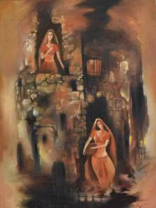 Portraits of Devotion | Painting by artist Durshit Bhaskar | oil | Canvas
