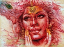 External Beauty | Painting by artist Darshan Sharma | oil | Canvas