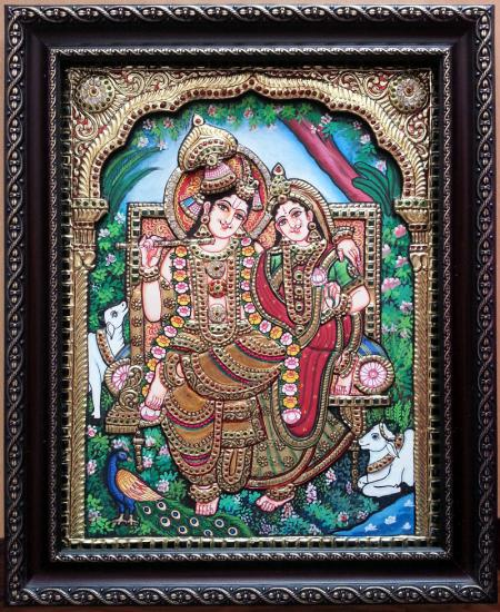 Indian Traditional Art Painting