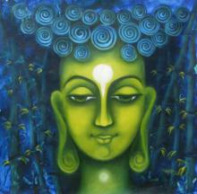 Searching Of Life III | Painting by artist Vijaya Ved | oil | Canvas