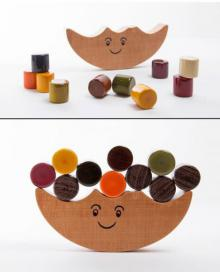 Dumroo Balancing Wooden Toy | Craft by artist Oodees Toys | wood