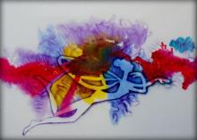 Sripad Kulkarni | Butterfly Series Mixed media by artist Sripad Kulkarni on Canvas | ArtZolo.com