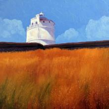 Tushar Patange | Oil Painting title Light House on Canvas