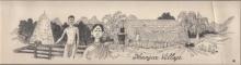 Pen-ink Paintings | Drawing title Mario Miranda Original D6 on Paper | Artist Mario Miranda