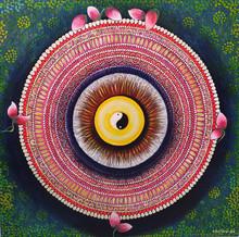 Nature Acrylic Art Painting title Balance by artist NITU CHHAJER