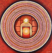contemporary Acrylic Art Painting title Mandala - Awekening Light Inside by artist NITU CHHAJER