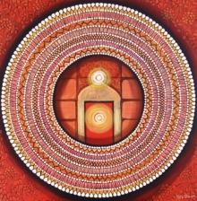 contemporary Acrylic Art Painting title Mandala - Awekening Light Inside 2 by artist NITU CHHAJER