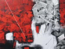 Sudhir Talmale | Oil Painting title Untitled 52 on Canvas | Artist Sudhir Talmale Gallery | ArtZolo.com