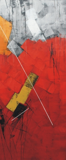 Sudhir Talmale | Oil Painting title Untitled 71 on Canvas | Artist Sudhir Talmale Gallery | ArtZolo.com