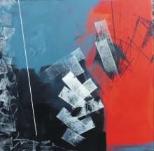Sudhir Talmale | Oil Painting title Untitled 55 on Canvas | Artist Sudhir Talmale Gallery | ArtZolo.com