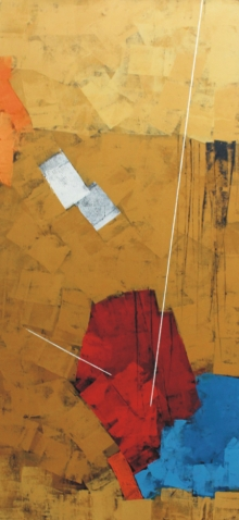 Sudhir Talmale | Oil Painting title Untitled 58 on Canvas | Artist Sudhir Talmale Gallery | ArtZolo.com