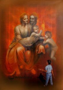 Figurative Oil Art Painting title Img 0108 1024x1451 by artist Gopal Sharma