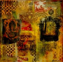 Gate To Ganesha | Mixed_media by artist Sheetal Singh | Canvas