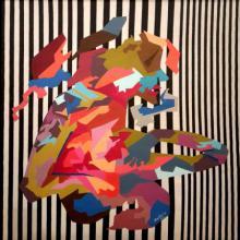 Sheetal Singh | Acrylic Painting title Queen on Canvas | Artist Sheetal Singh Gallery | ArtZolo.com