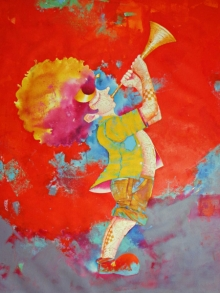 Shiv Kumar Soni Paintings | Acrylic Painting - Passion Of The Childhood Xvi by artist Shiv Kumar Soni | ArtZolo.com