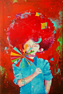 The Childhood 10 | Painting by artist Shiv Soni | acrylic | Canvas