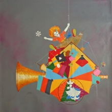 Treasure Of The Childhood Xviii | Painting by artist Shiv Kumar Soni | acrylic | Canvas
