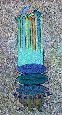 Rise Up | Painting by artist Sandeep Ghule | acrylic | Canvas