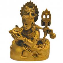 Brass Art | Brass Shiva Statue Craft Craft by artist Brass Art | Indian Handicraft | ArtZolo.com
