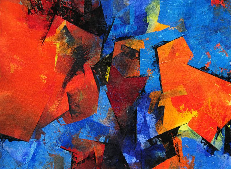 Contoh Gambar Aliran Abstraksionisme Lengkap | Kumpulan ...