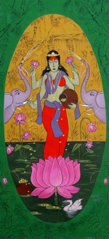 lord laxmi, mahalaxmi
