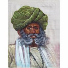 OLD MAN | Painting by artist Indian Miniture | watercolor | Others