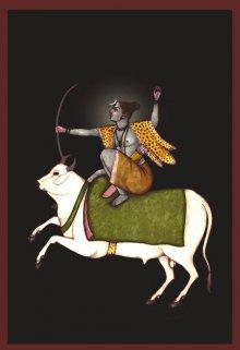 CLAUDIO FIORI | Shiva as an Archer Digital art Prints by artist CLAUDIO FIORI | Digital Prints On Canvas, Paper | ArtZolo.com