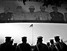 Rahmat Nugroho | Indonesian independence day ceremonial Photography Prints by artist Rahmat Nugroho | Photo Prints On Canvas, Paper | ArtZolo.com