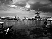 Tanjung Mas Harbour | Photography by artist Rahmat Nugroho | Art print on Canvas