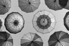 Umbrella | Photography by artist Rahmat Nugroho | Art print on Canvas