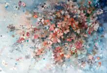 Asit Singh Paintings | Nature Painting - Delicate by artist Asit Singh | ArtZolo.com