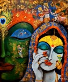 #krishna #krishnaface #radhakrishna #couple #love #nature