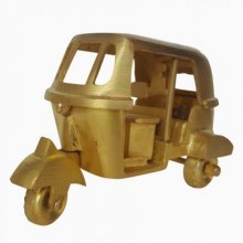 Tut Tuk Miniature | Craft by artist De Kulture Works | Brass