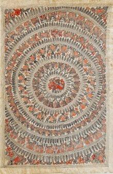 art,painting,traditional,folk,madhubani,indian