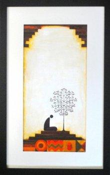 Figurative Acrylic Art Painting title 'Untitled' by artist Ishani Pimpalkhare