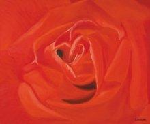 SIMON MASON | Oil Painting title A Rose For You on Canvas | Artist SIMON MASON Gallery | ArtZolo.com